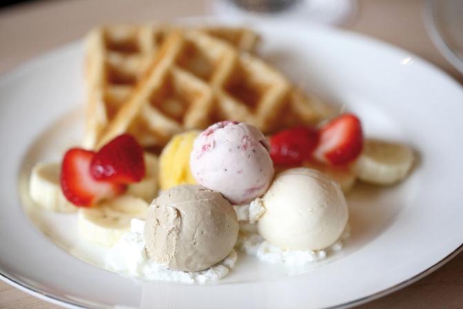 gelato come sostituto del pasto Foto 123RF