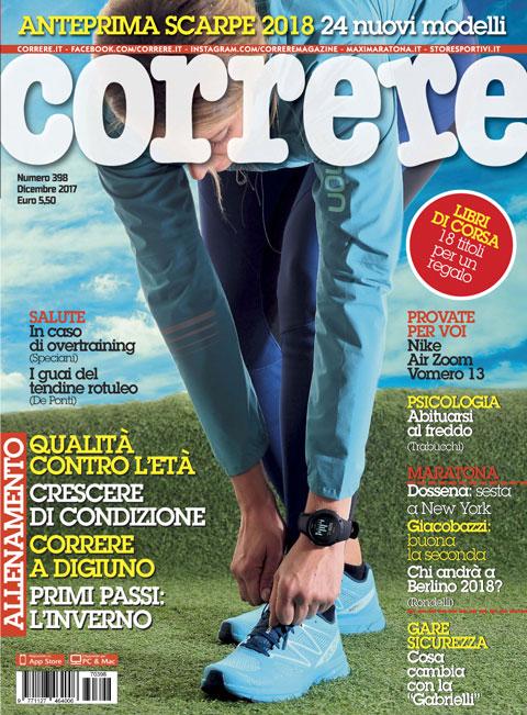 Correre Dicembre 2017 - Correre.it 768cd8701c0