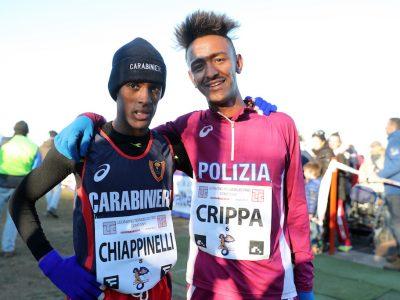 Yeman Crippa e Yohanes Chiappinelli