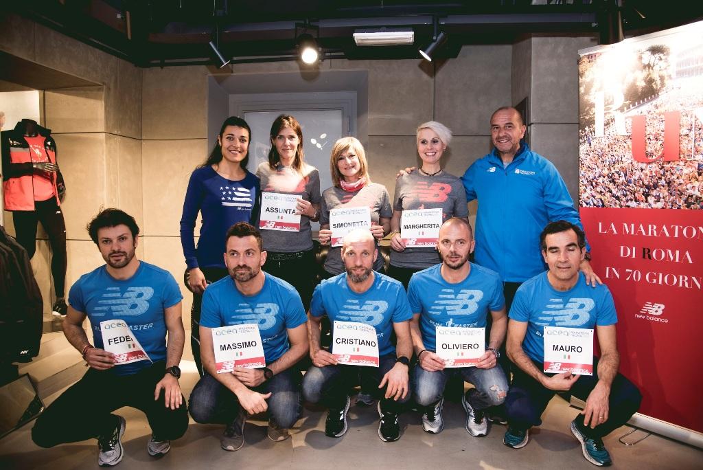 2scarpe new balance maratona roma