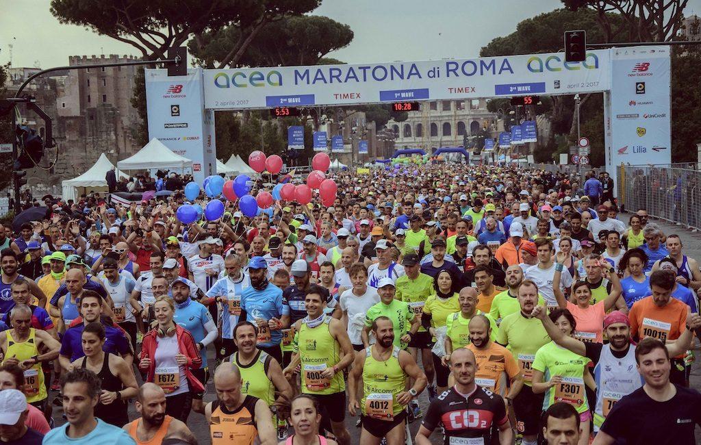Maratona di Roma - partenza
