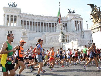 Maratona di Roma, Piazza Venezia