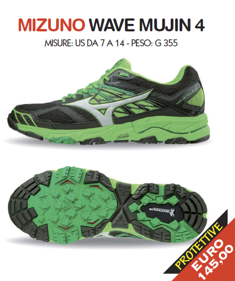 Mizuno Wave Mujin 4