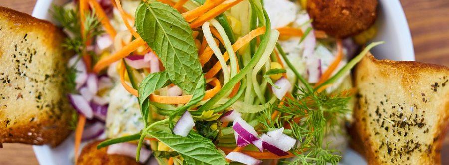 Alimentazione corsa frutta verdura