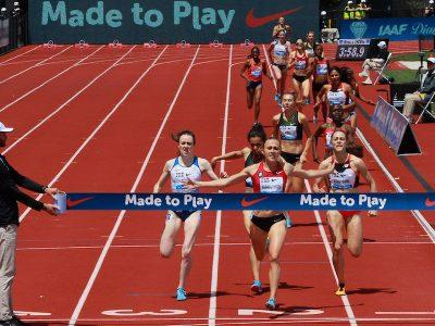 Shelby Houlihan vince i 1500mt