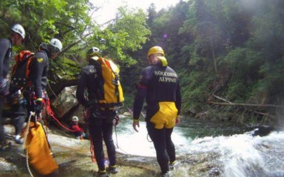 Ragazzo caduto in torrente, a dare l'allarme un concorrente del Trail Oasi Zegna.