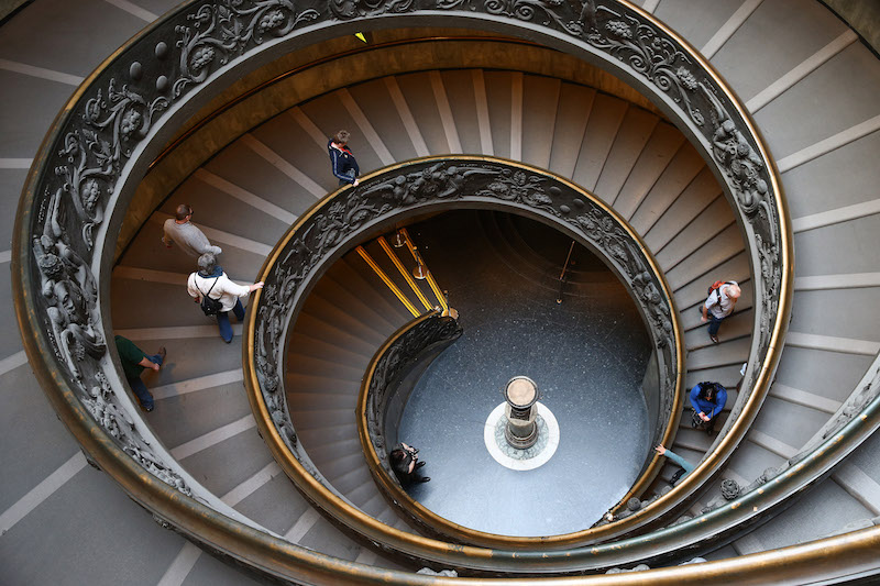 Più scale, meno palestre