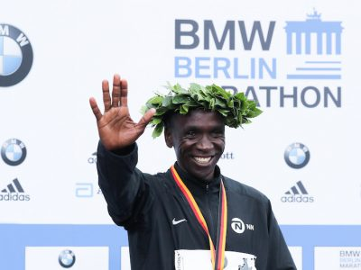 Eliud Kipchoge alla London Marathon 2020