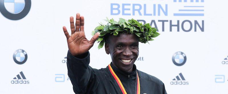 Eliud Kipchoge alla London Marathon 2020