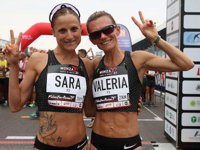 Sara Dossena e Valeria Straneo