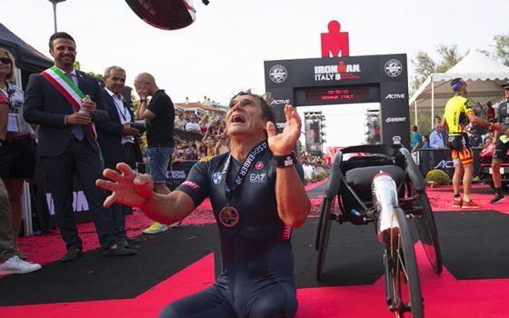 Alex Zanardi finishliner e vecchioni