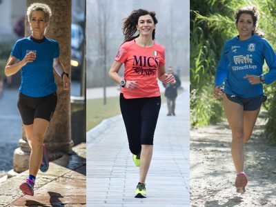 Da sinistra: Edith, Cinzia ed Erika.