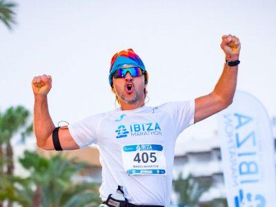 Finish liner ibiza marathon