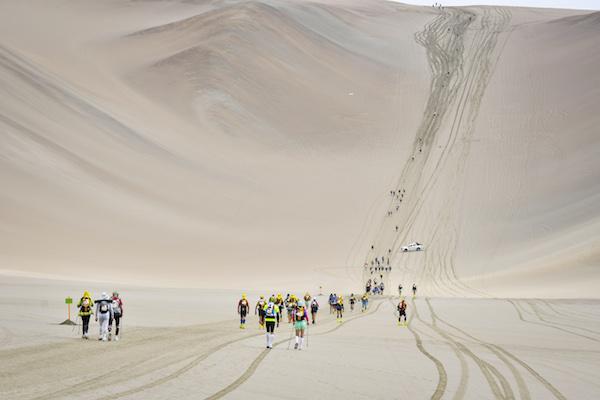 Half marathon des Sables