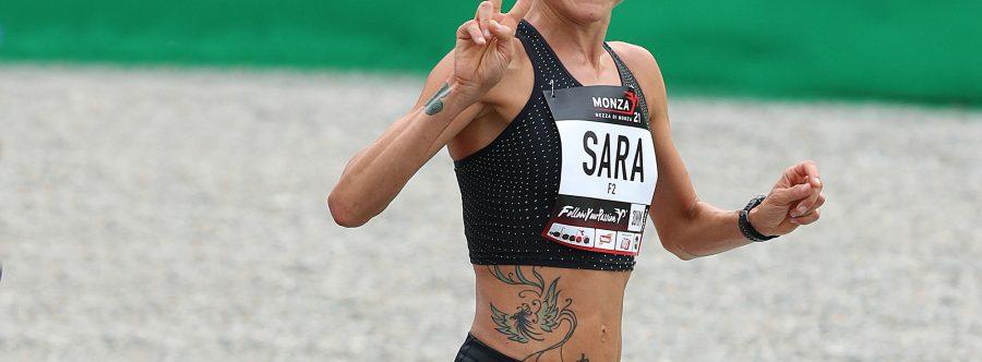 Sara Dossena vince la maratona di Cittadella