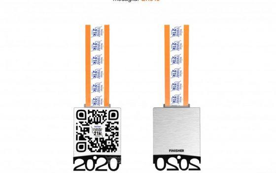 medaglia qr code