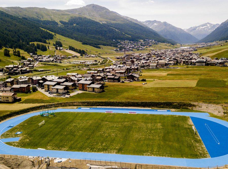 pista di atletica Livigno