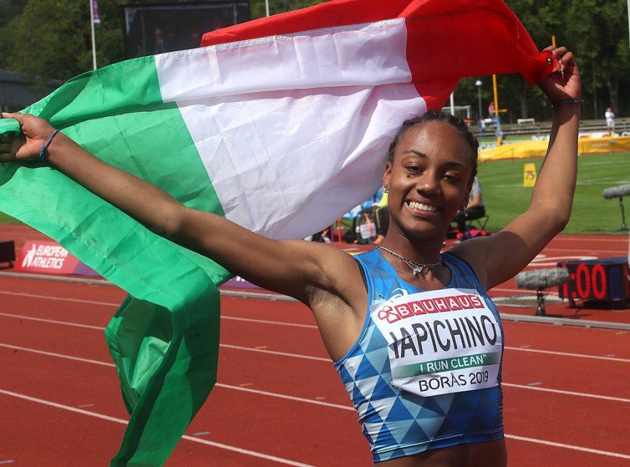 Larissa Iapichino record salto in lungo