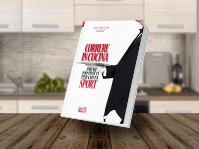 100 ricette per lo sportivo, copertina libro correre in cucina