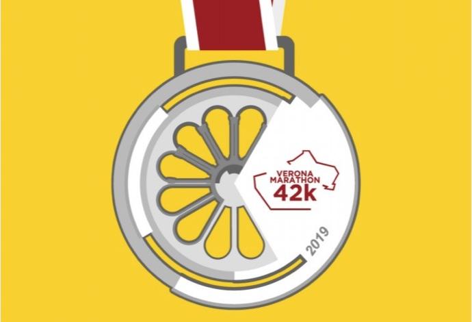 Verona Marathon medaglia