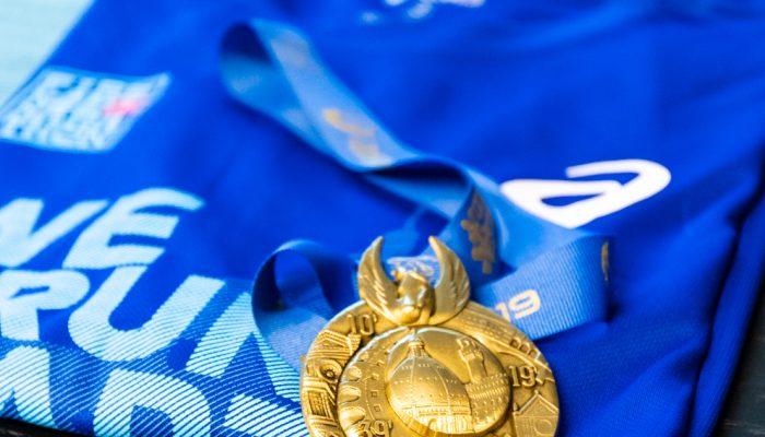 Firenze Marathon medaglia