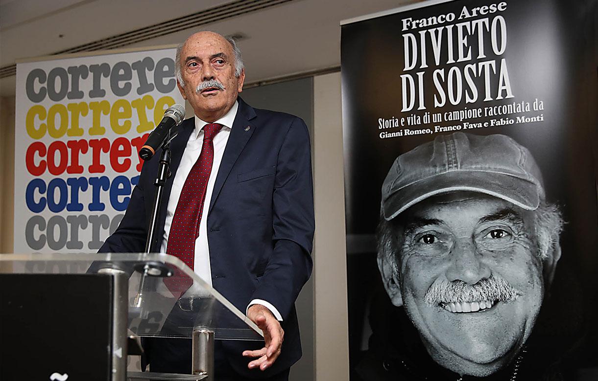 La vita e le carriere di Franco Arese raccontate da tre giornalisti sportivi che lo conoscono bene. - Correre.it