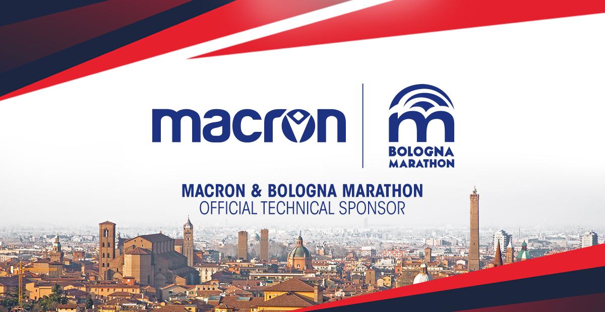 maratona di Bologna macron sponsor