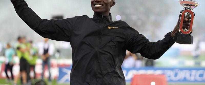 Joshua Cheptegei primato mondiale nei 5 km