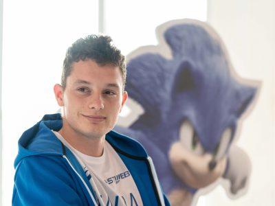 Filippo Tortu contro Sonic