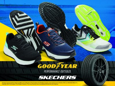 Collaborazione tra Skechers e Goodyear