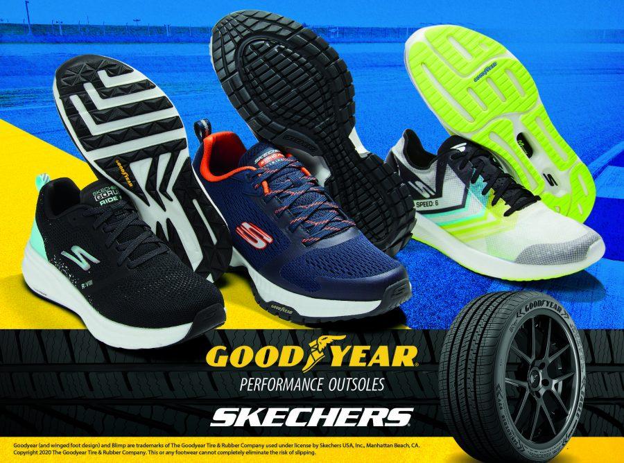 Collaborazione tra Skechers e Goodyear