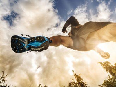 drop nelle calzature da running