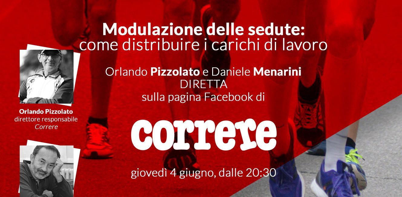 Orlando Pizzolato in diretta Facebook