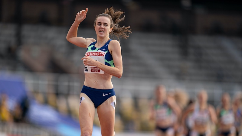 Laura Muir all' Istaf Berlino