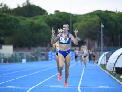 Gaia Sabbatini Campionati Italiani Juniores Grosseto